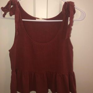 Pac Sun tank top crop